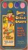 BOYS AND GIRLS SPORTS BOOK MARK PAINTING BOOK