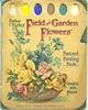 FEILD AND GARDEN FLOWERS POSTCARD PAINTING BOOK