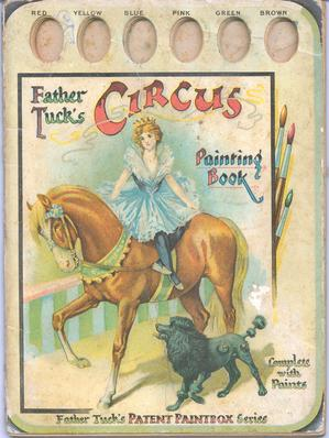 CIRCUS PAINTING BOOK