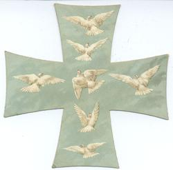 seven doves flying