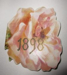 rose shaped booklet