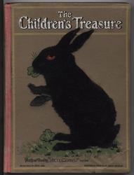 THE CHILDREN'S TREASURE silhouette of rabbit