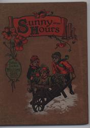SUNNY HOURS three children with wheelbarrow