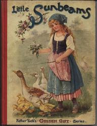 LITTLE SUNBEAMS girl with geese