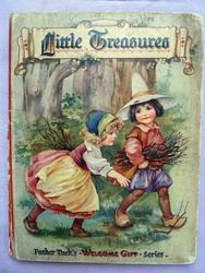 LITTLE TREASURES two children walking