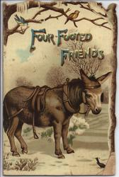 FOUR FOOTED FRIENDS