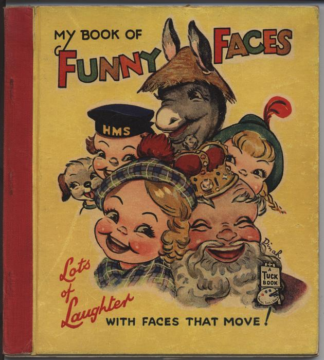 MY BOOK OF FUNNY FACES