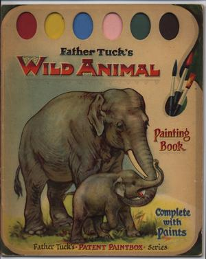 WILD ANIMALS PAINTING BOOK