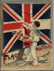 FLAGS OF ALL NATIONS PAINTING BOOK