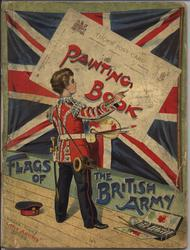 FLAGS OF THE BRITISH ARMY PAINTING BOOK