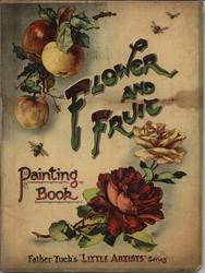 FLOWER AND FRUIT PAINTING BOOK