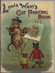 LIOUS WAIN'S CAT PAINTING BOOK