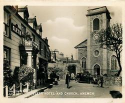 ELETH HOTEL AND CHURCH, AMLWCH