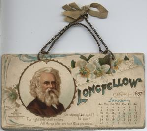 LONGFELLOW CALENDAR FOR 1897