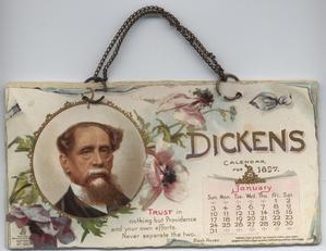 DICKENS CALENDAR FOR 1897