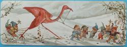 elves capture a flamingo