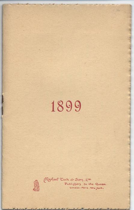 1899 date book