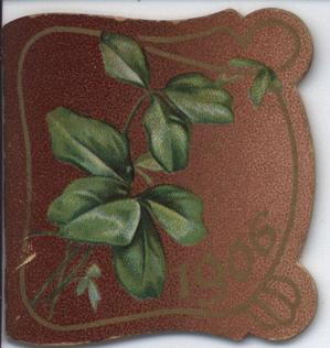 1906 green leaves
