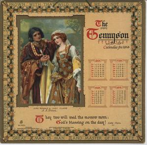 THE TENNYSON CALENDAR FOR 1914