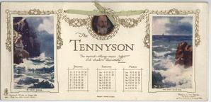 THE TENNYSON CALENDAR FOR 1910