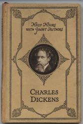 CHARLES DICKENS portrait inset