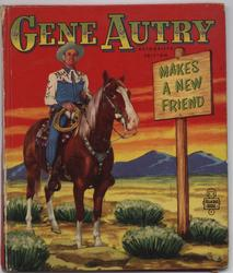 GENE AUTRY MAKES A NEW FRIEND