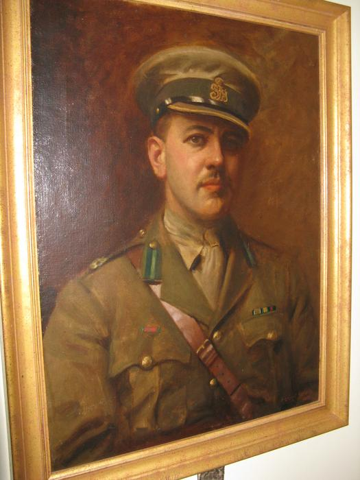 Portrait of Sir Reginald Tuck, Royal Hussars