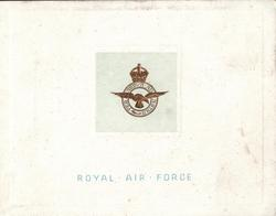 ROYAL AIR FORCE (front) -- R.A.F. STATION COSFORD (inside)