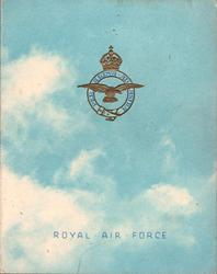 ROYAL AIR FORCE -- SNAITH (inside)