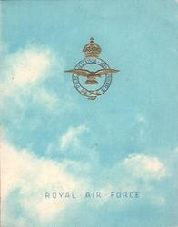 ROYAL AIR FORCE -- SERGEANTS' MESS (inside)