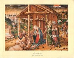THE NATIVITY -- CARLO CRIVELLI 1468-1493
