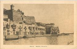 MALTA. MARINA VALETTA