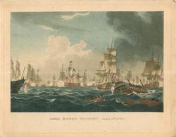 LORD HOWE'S VICTORY, JUNE 1ST. 1794