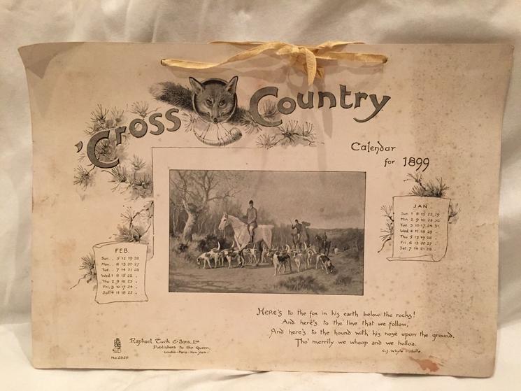 'CROSS COUNTRY fox hunting