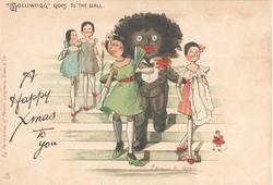 """GOLLIWOGG"" GOES TO THE BALL   opt.  A HAPPY XMAS TO YOU"