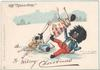 "THE ""GOLLIWOGG""  A MERRY CHRISTMAS"