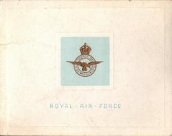 ROYAL AIR FORCE -- no R.A.F. STATION identification