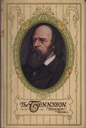 THE TENNYSON BIRTHDAY BOOK oval portrait in decorative frame and patterned covers