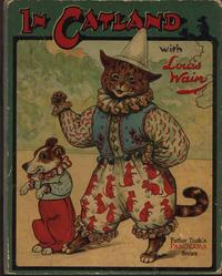 IN CATLAND WITH LOUIS WAIN cat and dog dancing in clown costumes