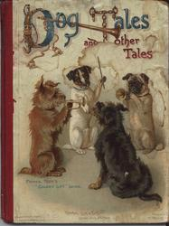 DOG TALES AND OTHER TALES four dogs playing musical instruments