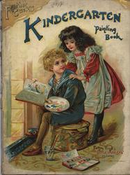 FATHER TUCK'S KINDERGARTEN PAINTING BOOK