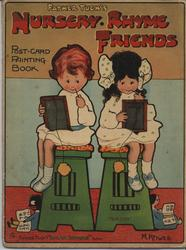 FATHER TUCK'S NURSERY RHYME FRIENDS POST-CARD PAINTING BOOK