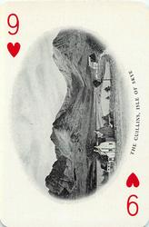 9 of Hearts THE CUILLINS, ISLE OF SKYE