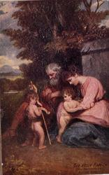 THE HOLY FAMILY (SIR J. REYNOLDS PRA) NATIONAL GALLERY