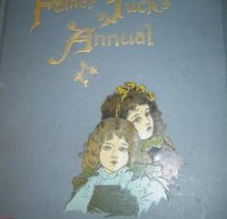FATHER TUCK'S ANNUAL 1896 for 1897 two girls on cover, no date given