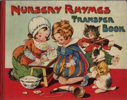 NURSERY RHYMES TRANSFER BOOK