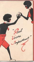 """REAL VERRA IMPORTANT""(illuminated) black stereotypes, man gives another a letter to send urgently"