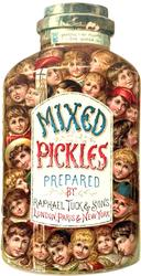 MIXED PICKLES PREPARED BY RAPHEAL TUCK AND SONS
