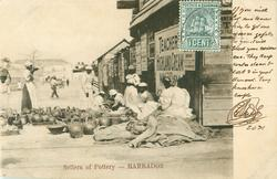 SELLERS OF POTTERY