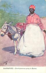 COUNTRY WOMAN GOING TO MARKET